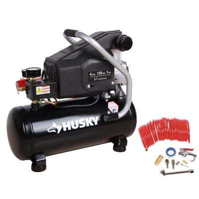 4 Gal. Portable Electric-Powered Air Compressor