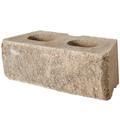 RockWall Large 6 in. x 17.5 in. x 7 in. Pecan Concrete Retaining Wall Block (48 Pcs. / 34.9 Face ft. / Pallet)