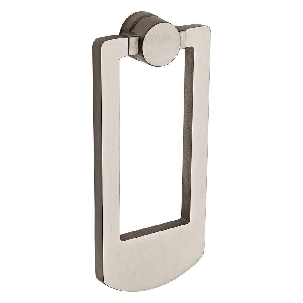 Satin Nickel Contemporary Door Knocker