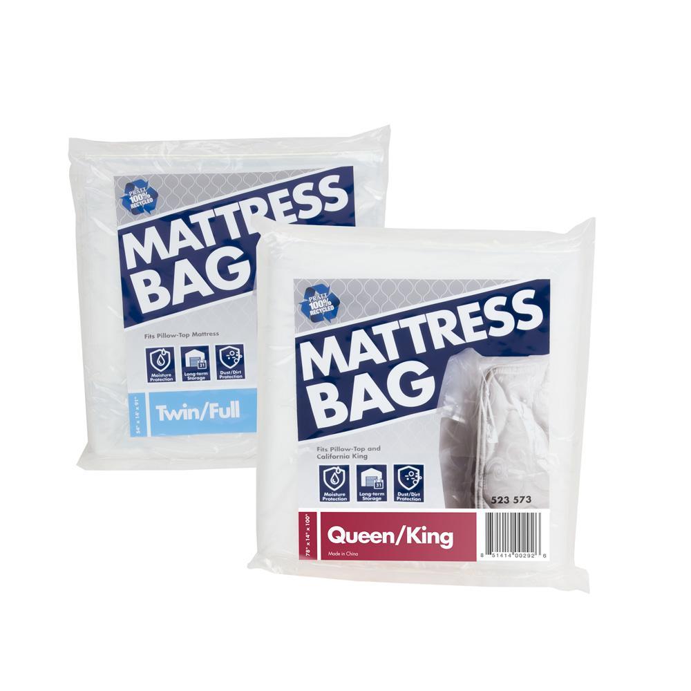 Pratt Retail Specialties Twin/Full Mattress Bag Plus Queen ...