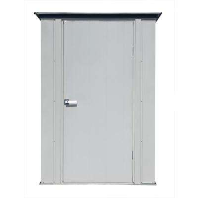 3 ft. x 4 ft. Grey Flute and Anthracite Space Maker Patio Shed