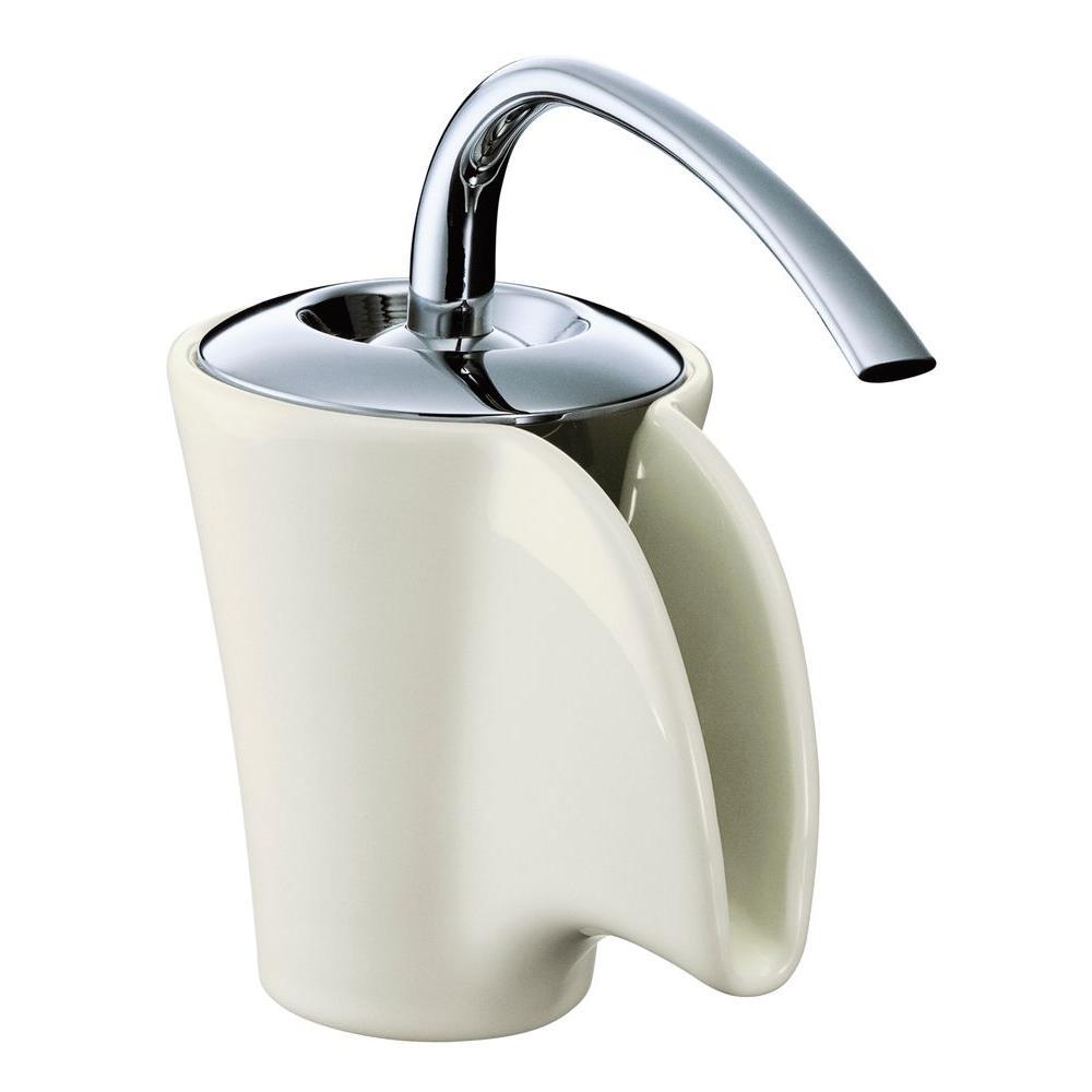 KOHLER Vas Single Hole Single-Handle Low-Arc Bathroom Faucet in ...