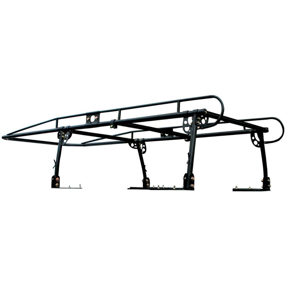 PRO-SERIES 800 lbs. Capacity Heavy-Duty Full Size Truck Rack with Adjustable Over-Cab Design