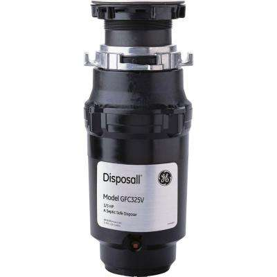 1/3 HP Continuous Feed Garbage Disposal
