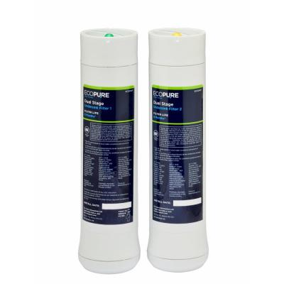 Dual Stage Water Replacement Filter (2-Pack) (Fits ECOP20 System)