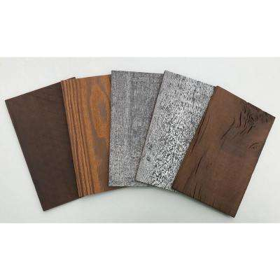 1/4 in. x 5 in. x 0.7 ft. Set of Samples for Easy Paneling 3D Barn Wood Wall Planks (5 - Case)