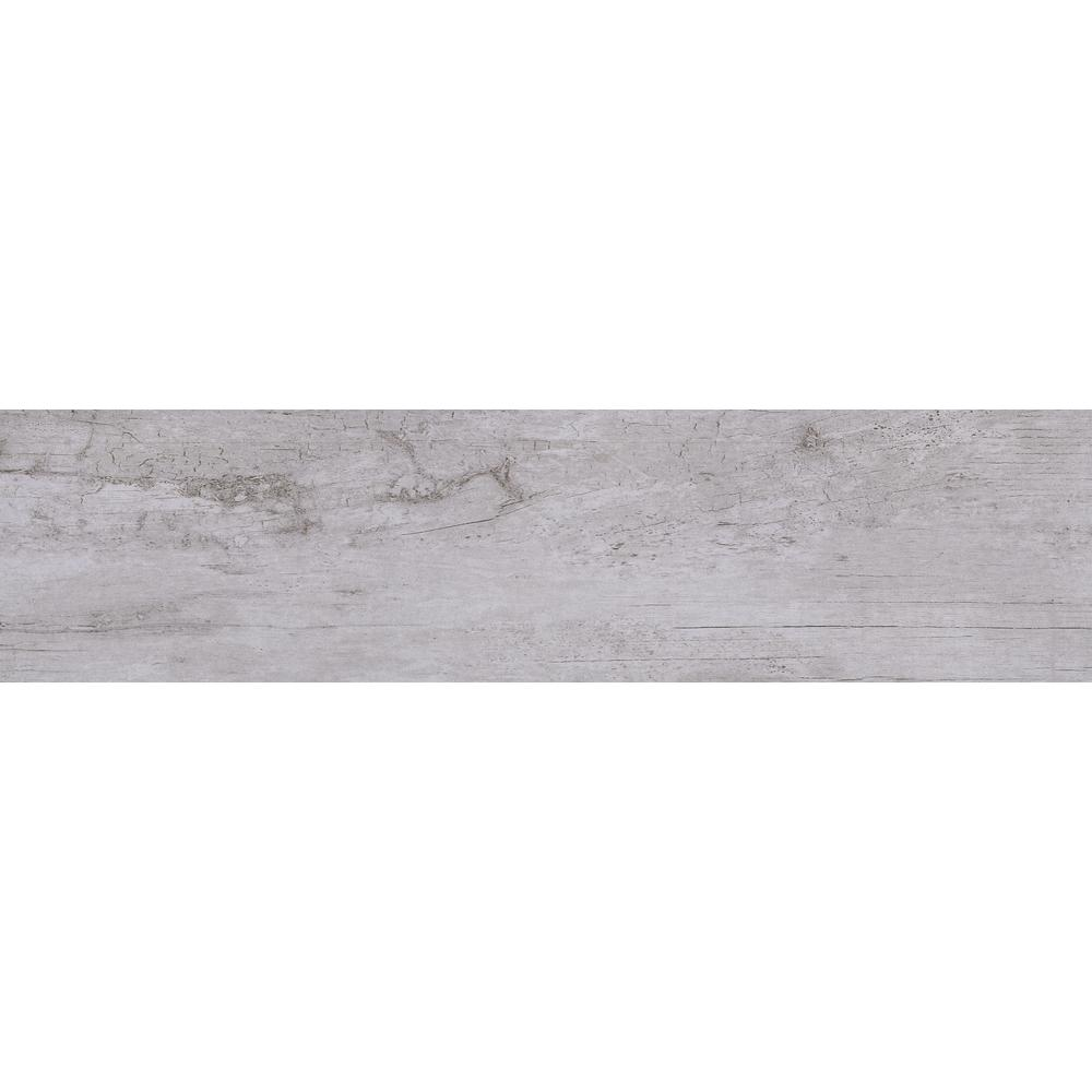 Osaka Grigio 7 in. x 24 in. Porcelain Floor and Wall
