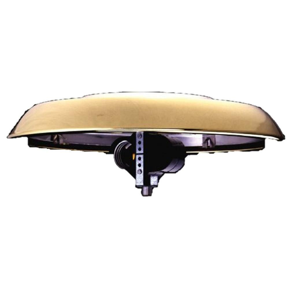 Casablanca Weathered Copper Integrated Low Profile Fitter Ceiling Light Kit-DISCONTINUED