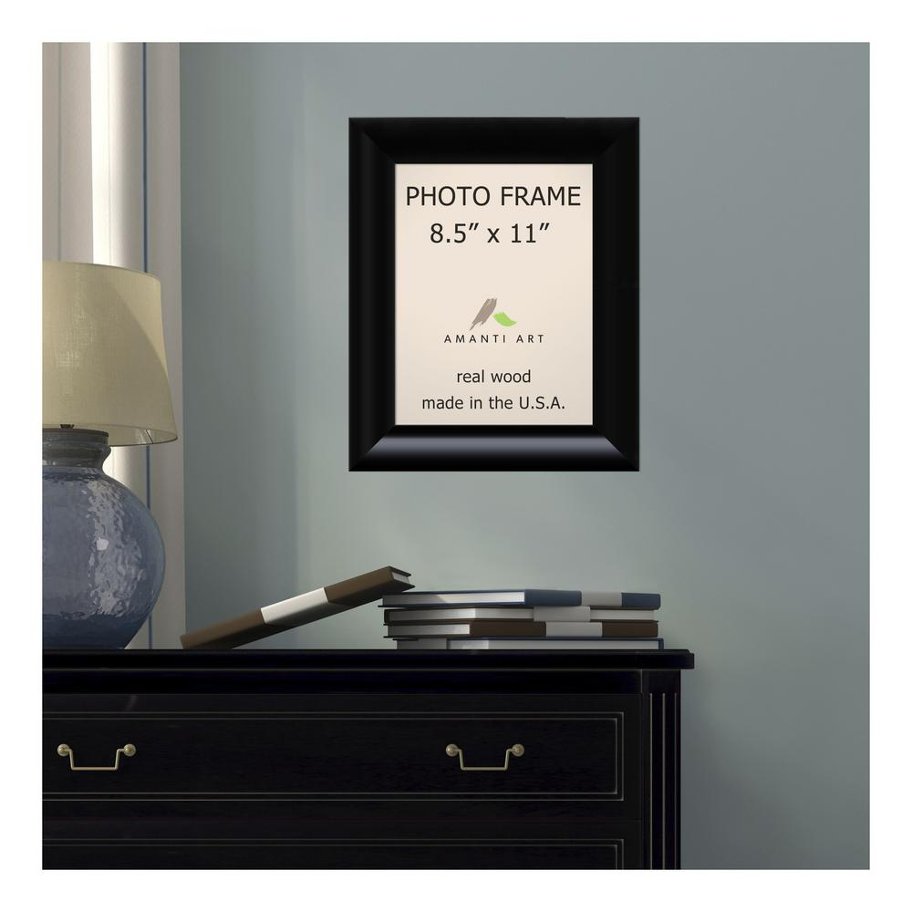 Amanti Art Steinway 85 In X 11 In Black Picture Frame Dsw1385333