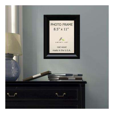 Steinway 8.5 in. x 11 in. Black Picture Frame
