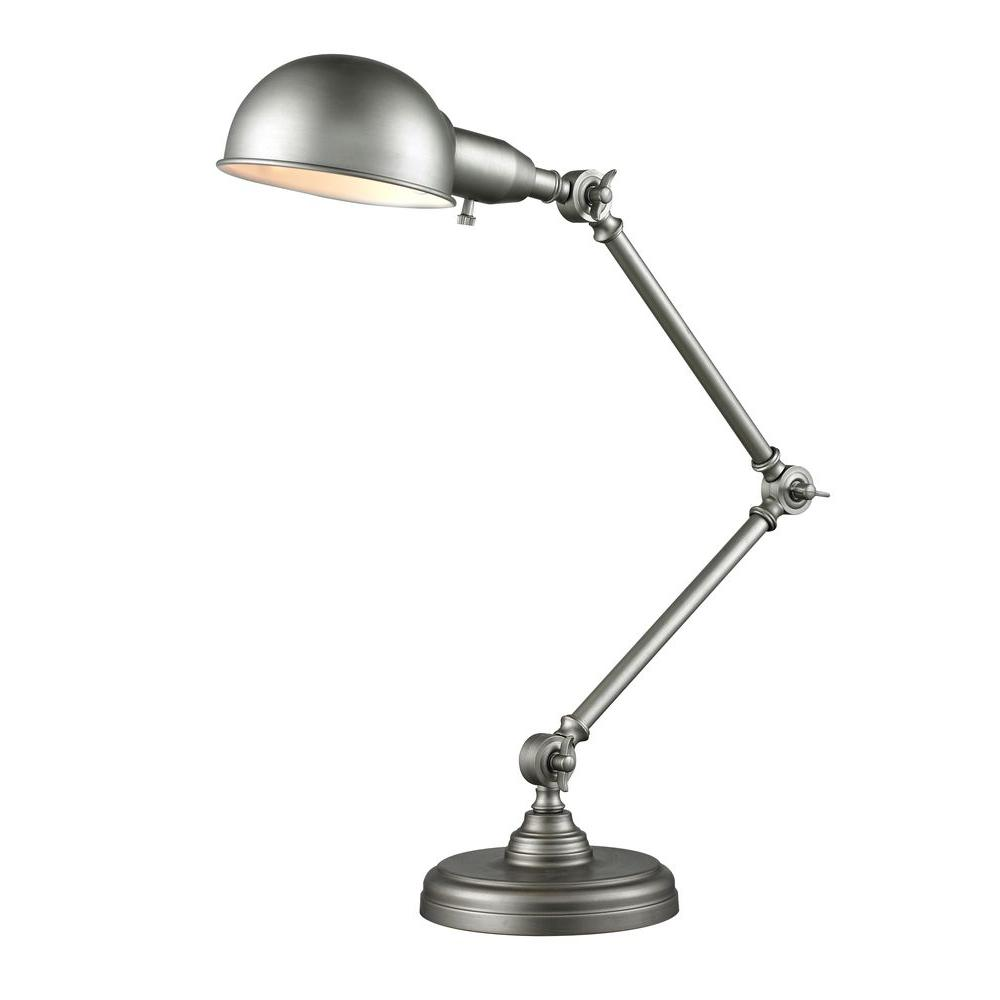 Filament Design Maxon 36 in. Burnished Silver Table Lamp