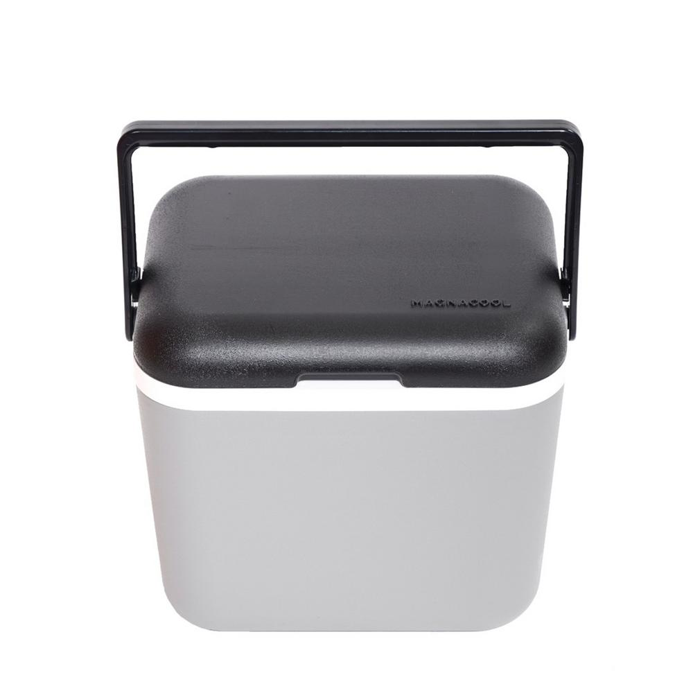 Magnacool Magnetic Gray Hard Cooler 1004 1 The Home Depot