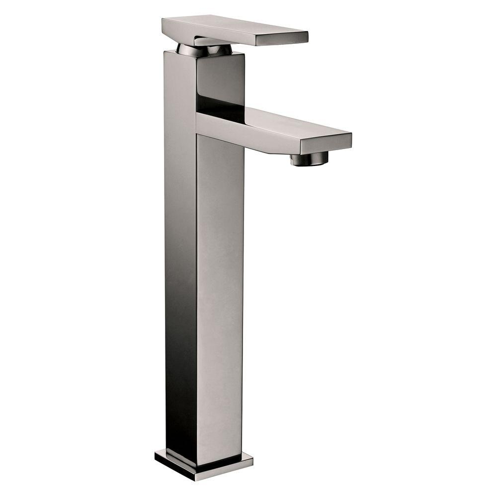 Yosemite Home Decor Single Hole 1-Handle Lavatory Faucet in Brushed Nickel