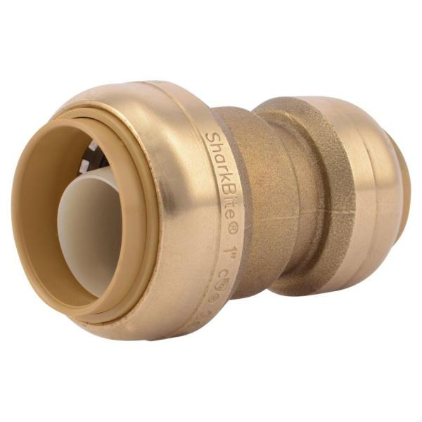 1 in. x 3/4 in. Push-to-Connect Brass Reducing Coupling Fitting