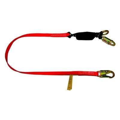 6 ft. Heavy Duty Tie-Back Lanyard