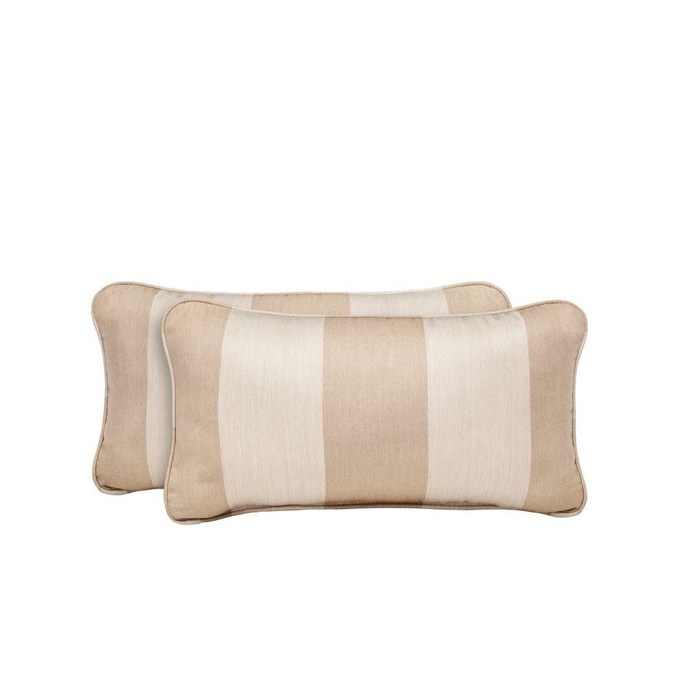 Vineyard Regency Wren Outdoor Lumbar Pillow (2-Pack)