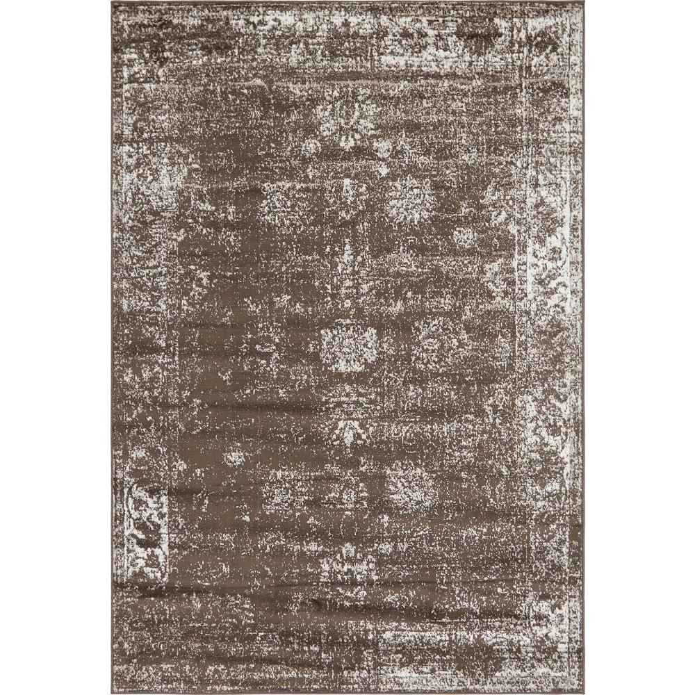 Unique Loom Sofia Casino Brown 6 0 X 9 0 Area Rug