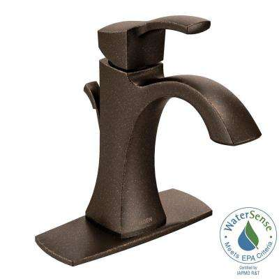 Voss Single Hole 1-Handle High-Arc Bathroom Faucet in Oil Rubbed Bronze