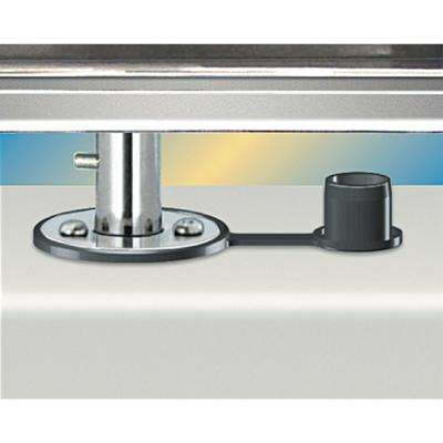 Dual Locking Flush Deck Socket (SD) Mount for 12 in. x 18 in. or Smaller Rectangular Grills