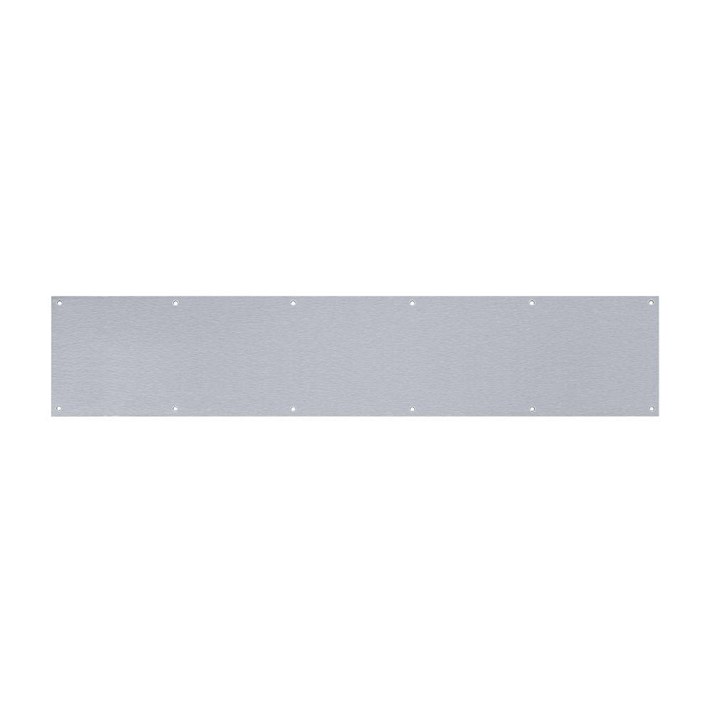 Satin Stainless Steel Kickplates - Door Kickplate - The Home Depot