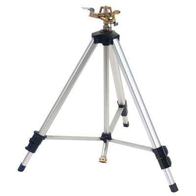 Deluxe Metal Pulsator Sprinkler with Tripod