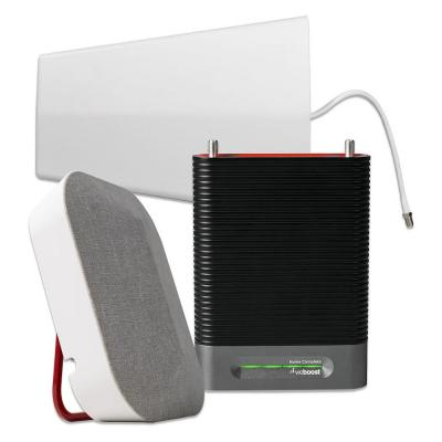 Installed Home Complete Cellular Phone Signal Booster, White