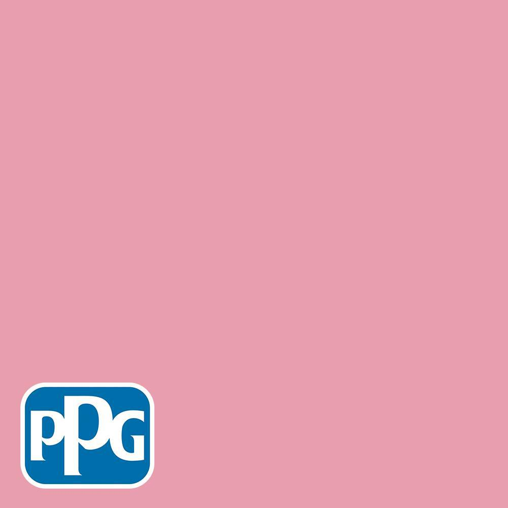 37ca3c27eaf PPG Diamond 1 gal.  HDGR15U A Fun Little Pink Satin Interior Paint with  Primer