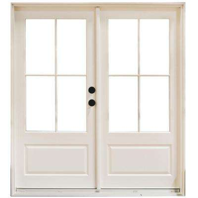 Left Handinswing Fiberglass French Patio Door Patio Doors