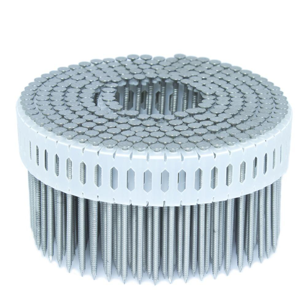 2.25 in. x 0.092 in. 0-Degree Ring Stainless Plastic Sheet Coil
