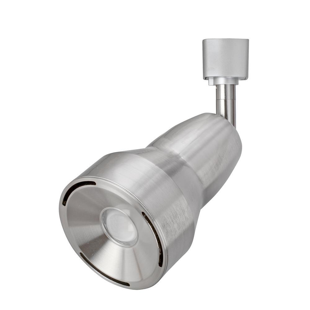 1-Light Brushed Nickel LED Track Head