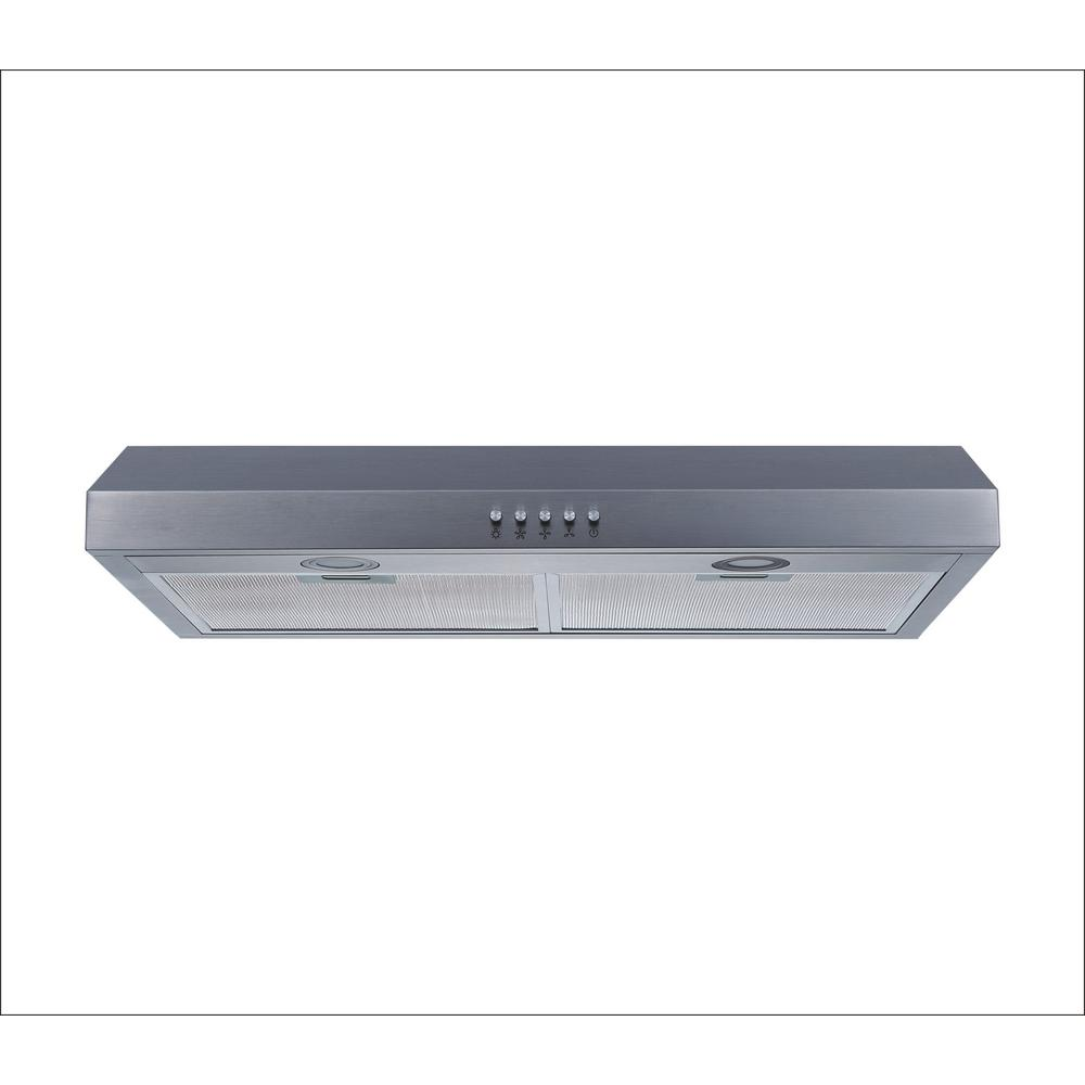 c6605db80b4 Winflo 30 in. Under Cabinet Range Hood in Stainless Steel with ...