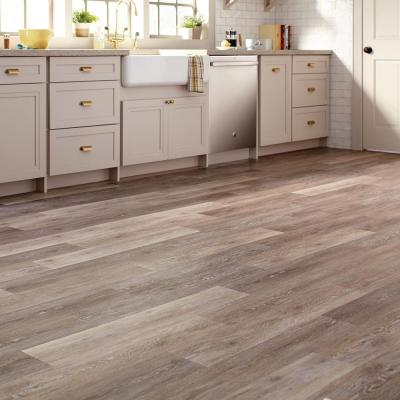 Brushed Oak Taupe 6 in. W x 36 in. L Luxury Vinyl Plank Flooring (24 sq. ft. / case)
