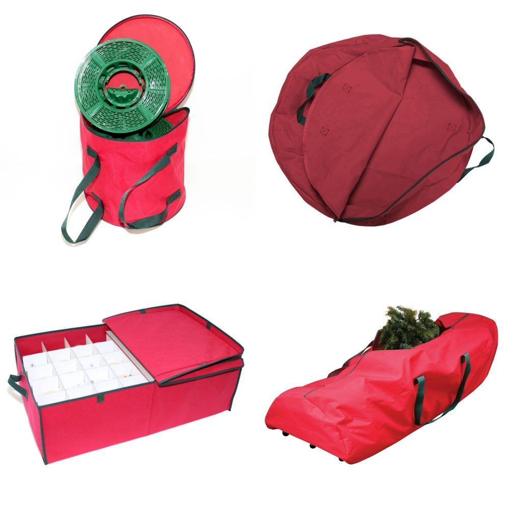 St Nick's Choice Red Seasonal Storage Kit (4-Piece)