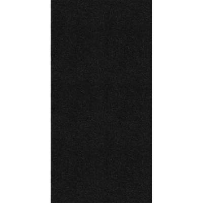 Black 1 ft. x 2 ft. Fiberglass Stuck On Ceiling Tile (Case of 20)