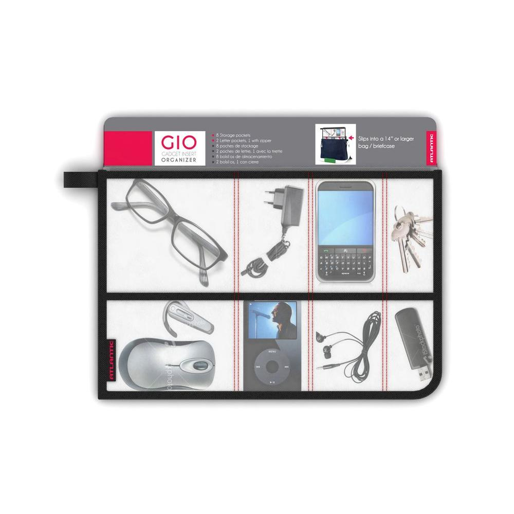 Atlantic Gio Travel Organizer For Electronic Gear 39004740 The Gadget