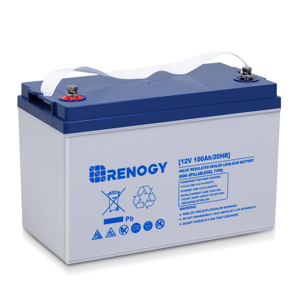 12-Volt 100AH Deep Cycle Hybrid Gel Battery