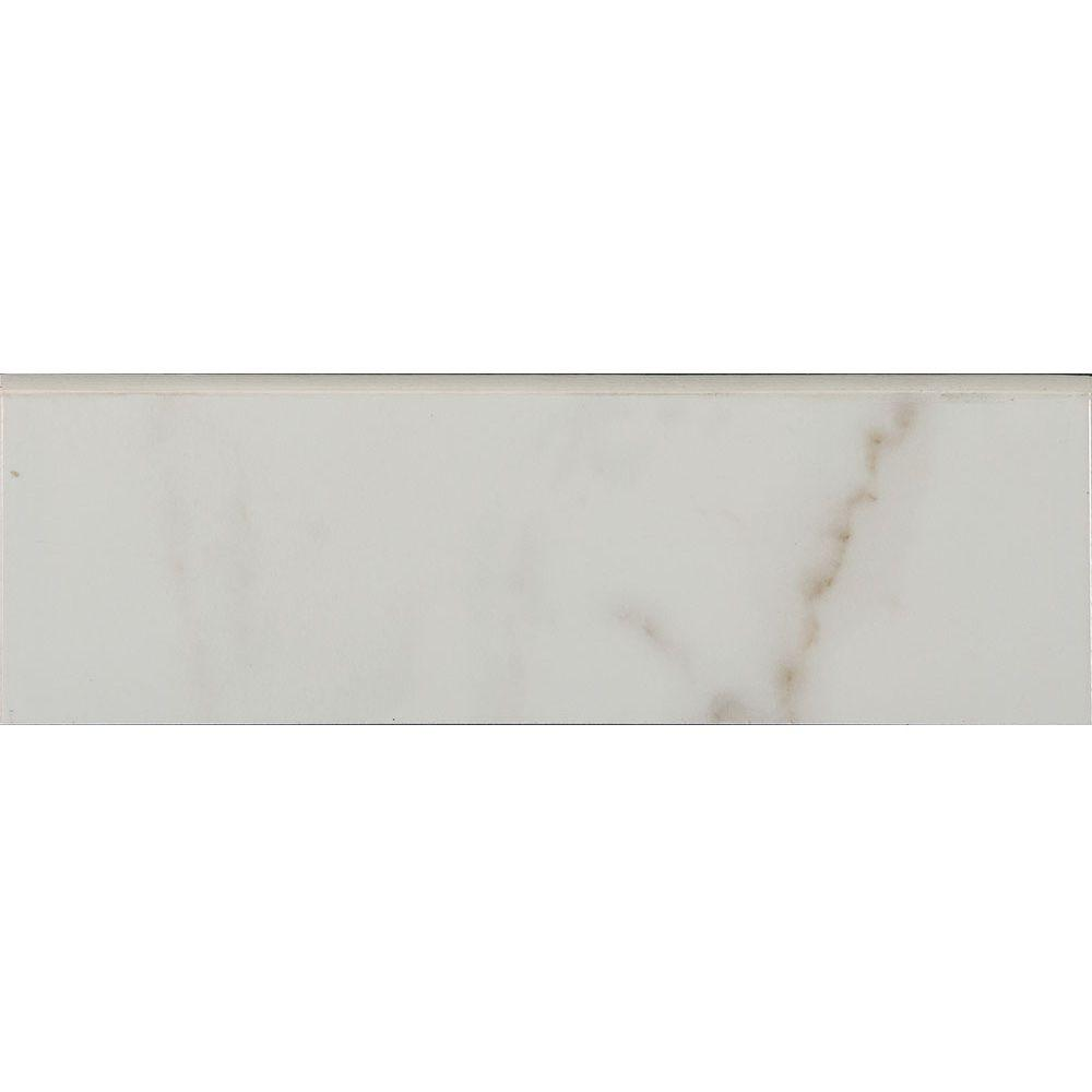 3x6 tile trim tile the home depot ceramic wall bullnose tile dailygadgetfo Gallery