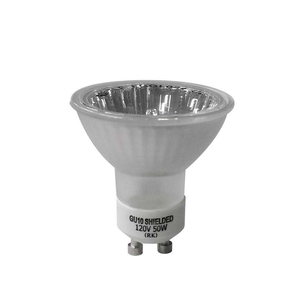50-Watt GU10-16 Partial Reflective Flood Halogen Light Bulb (3-Pack)
