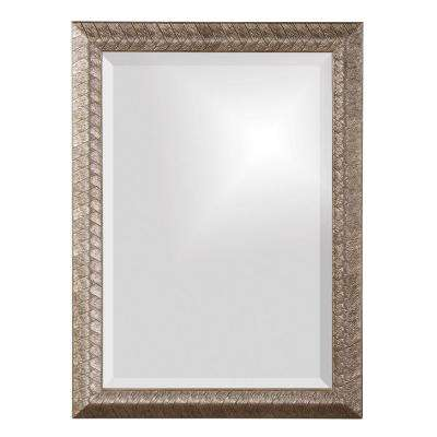 28 in. x 20 in. Rectangle Framed Mirror