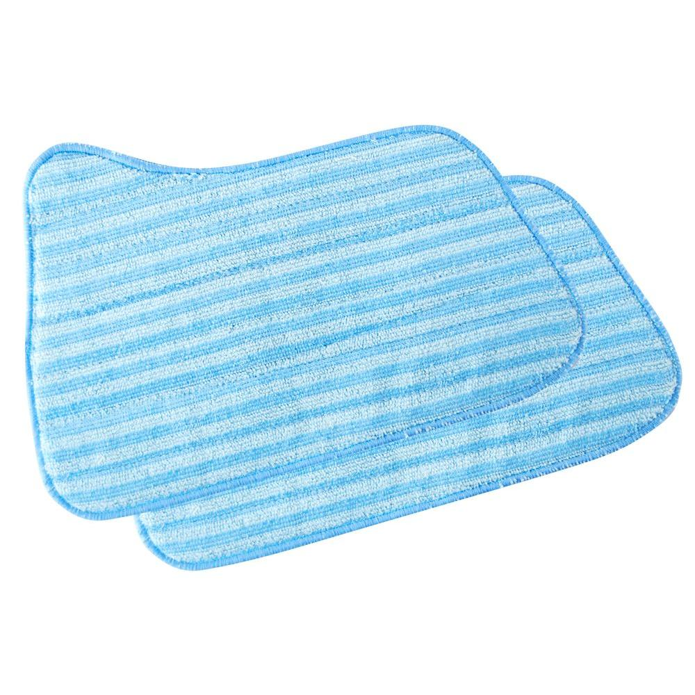 SteamFast Replacement Microfiber Cleaning Pads for 3-in-1 Steam Mop (2-Pack)