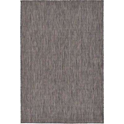 4 X 6 Black Outdoor Rugs Rugs The Home Depot