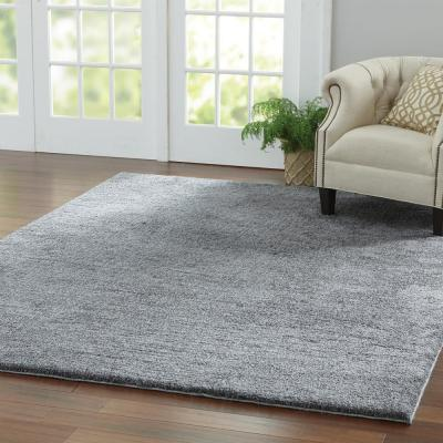 Ethereal Shag Gray 2 ft. x 8 ft. Indoor Runner Rug