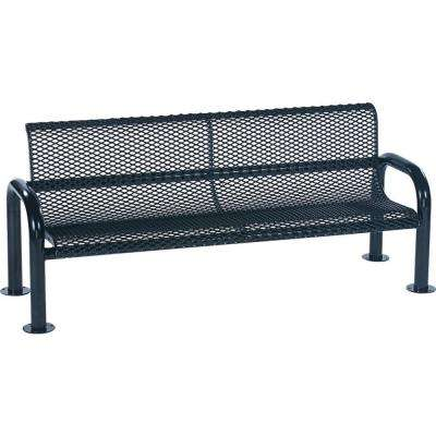 Blue Commercial Bench