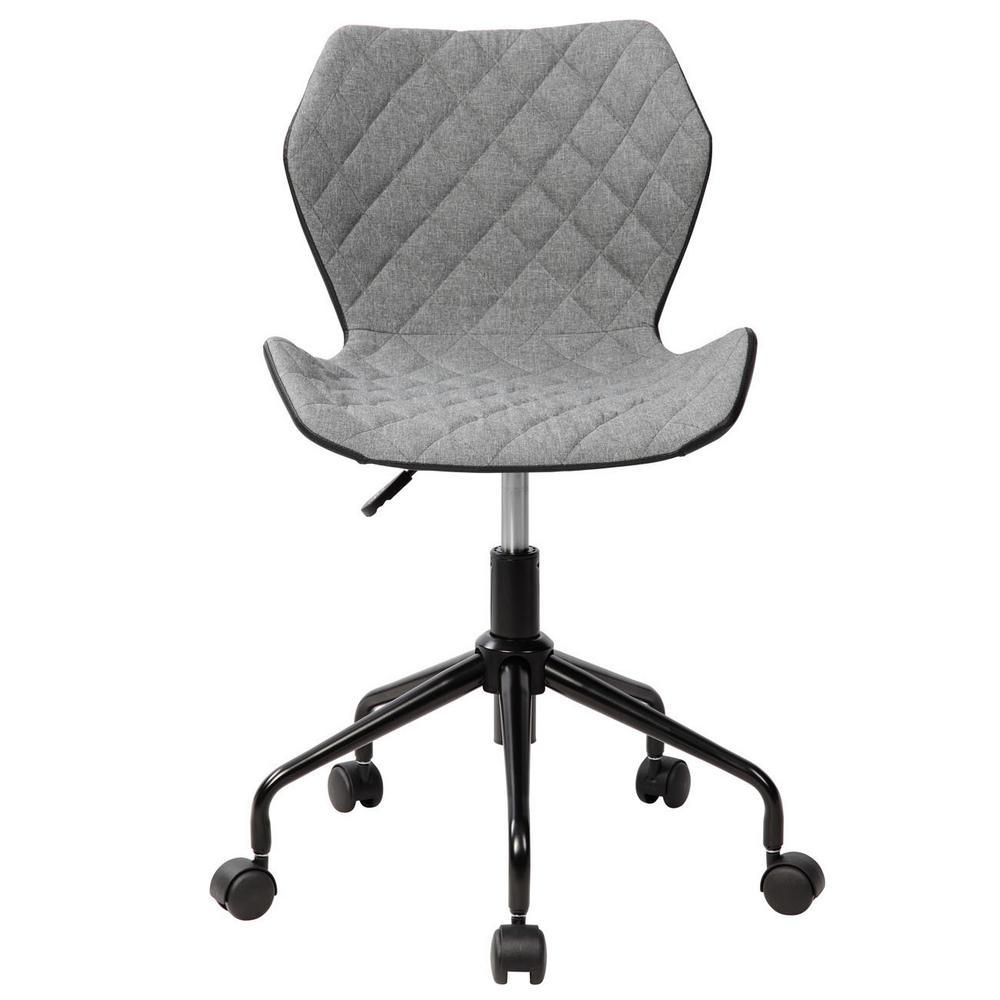 Incroyable Grey Deluxe Modern Office Armless Task Chair
