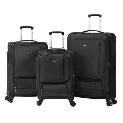 PETRA 3-Piece Expandable EVA Spinner Set (8-Wheel)
