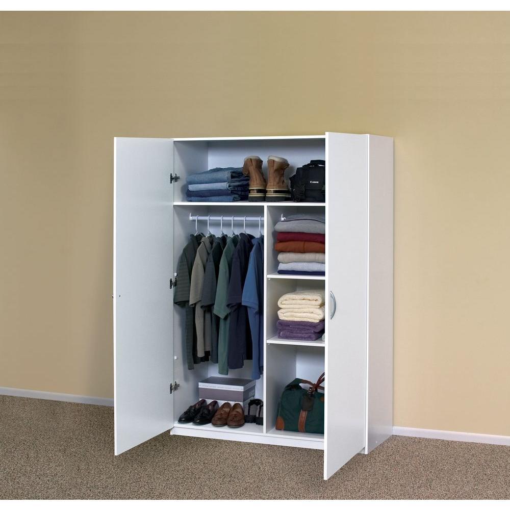 Closetmaid 71 75 In H X 48 W 20, Wardrobe Cabinet Home Depot