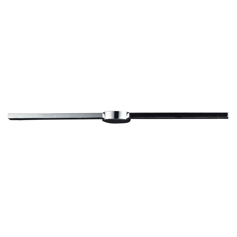 Titan Lighting Illuminare Accessories 3-Light Ceiling Mount Polished Chrome Linear Bar