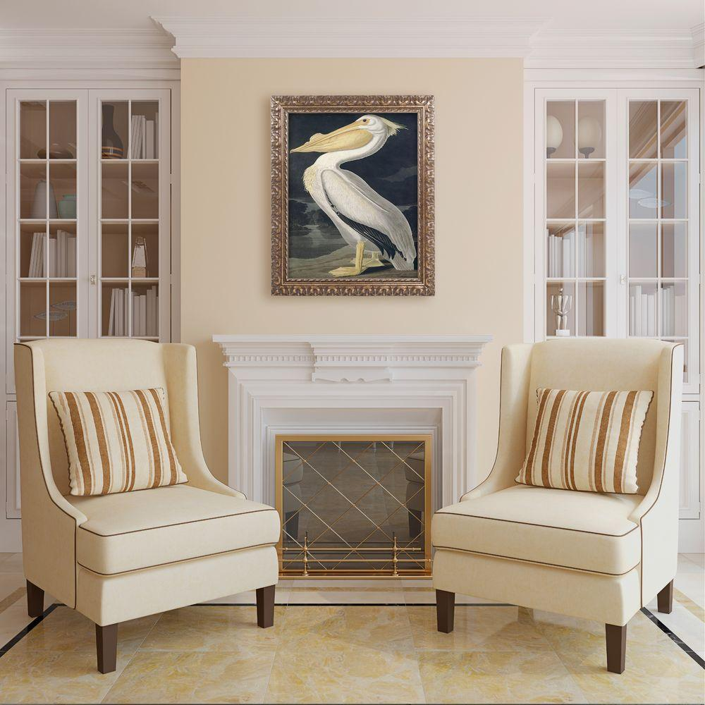 "Trademark 20 in. x 16 in. ""American White Pelican"" by Joh..."