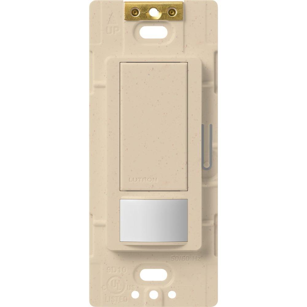 Maestro Motion Sensor switch, 5-Amp, Single-Pole or Multi-Location, Stone