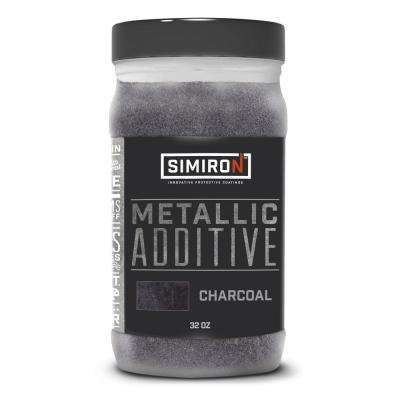 32 oz. Charcoal Metallic Paint and Epoxy Additive for 3 Gal. Mix